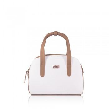 Bolso Mini Bag Blanco - Correa Larga Manos Libres