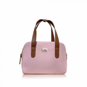 Bolso Mini Bag Rosa - Baúl - Correa Larga Manos Libres