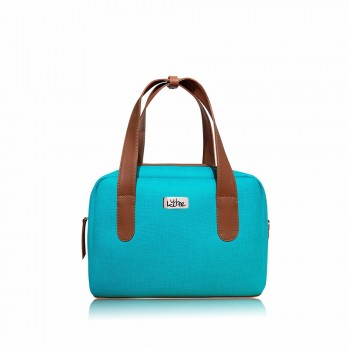 Bolso Mini Bag Turquesa Indigo - Baúl