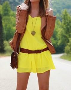 Amarillo como el Sol Radiante