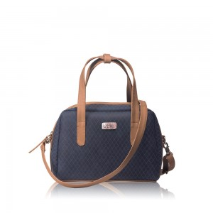 Bolso Mini Bag Azul Oscuro - Correa Larga Manos Libres