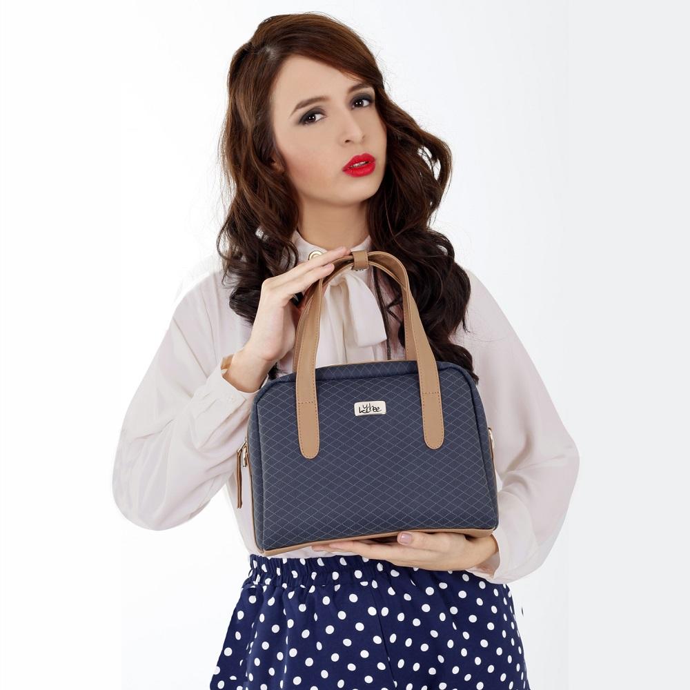 Bolso Mini Bag Azul Oscuro - Correa Larga Manos Libres